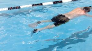 William Blodgett Swimming