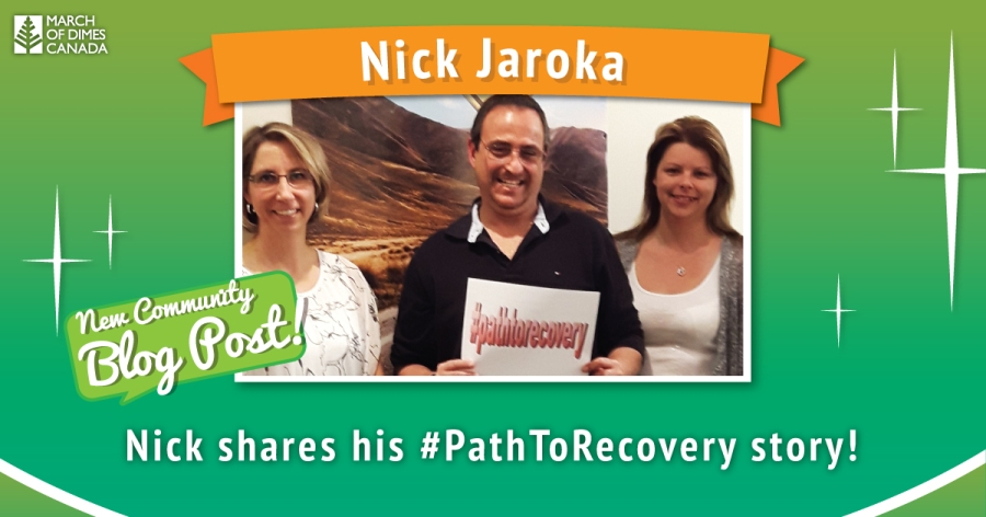 """Nick Jaroka"" - Nick shares his #PathToRecovery story!"