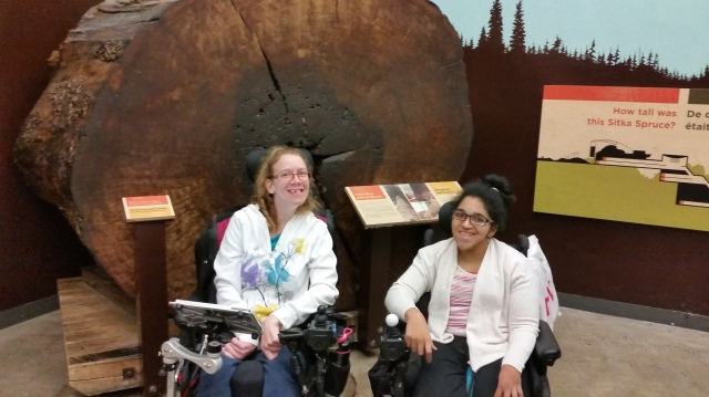 Jess and Marrisa, participants of our L.I.F.E. Program in Toronto.