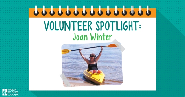 Volunteer Spotlight: Joan Winter