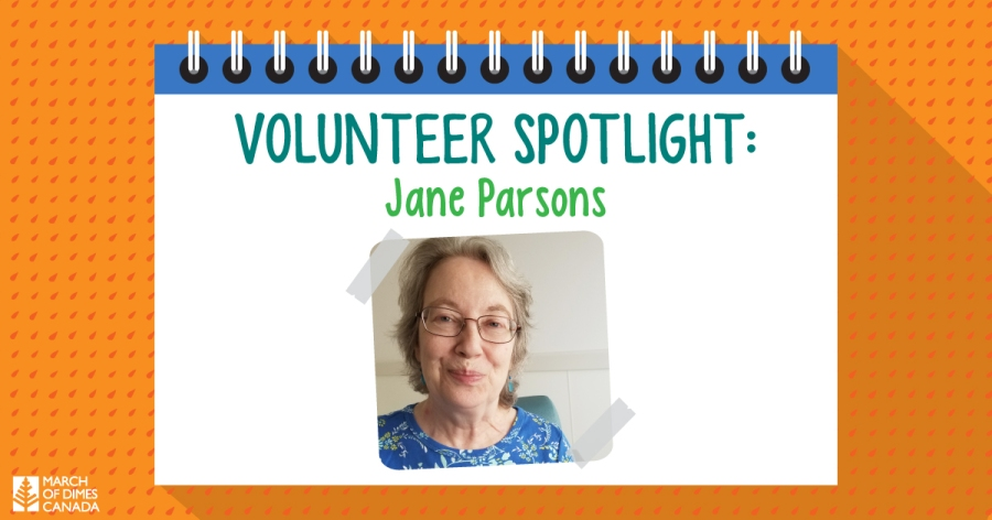 Volunteer Spotlight: Jane Parsons