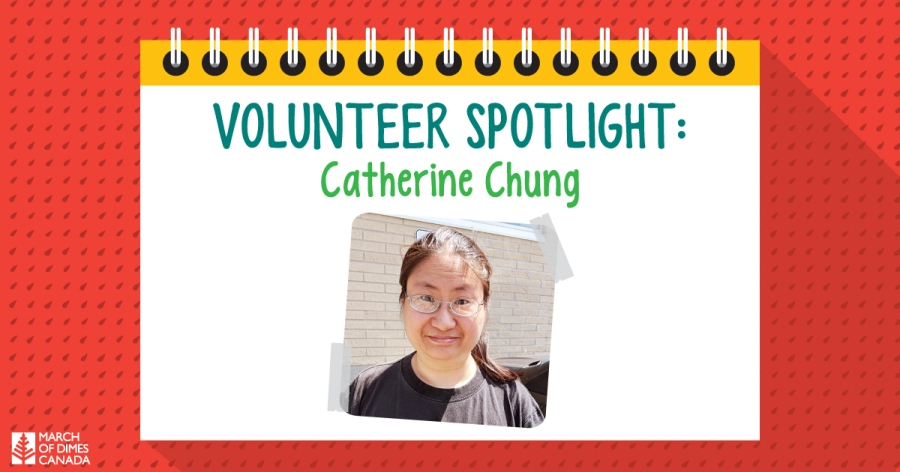 Volunteer Spotlight: Catherine Chung