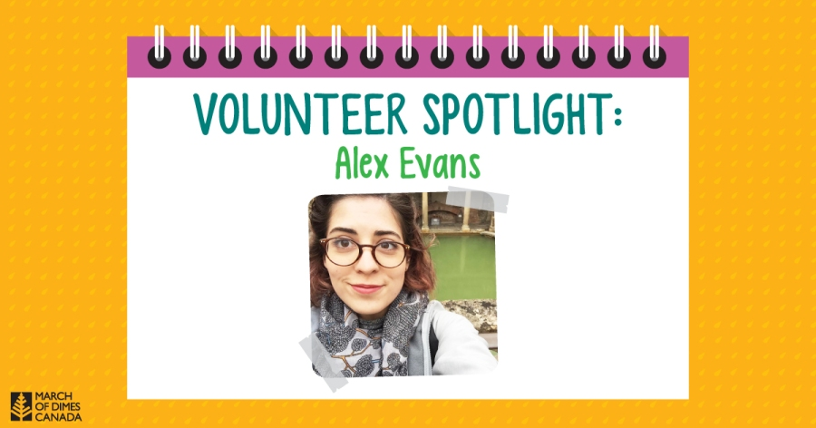 Volunteer Spotlight: Alex Evans