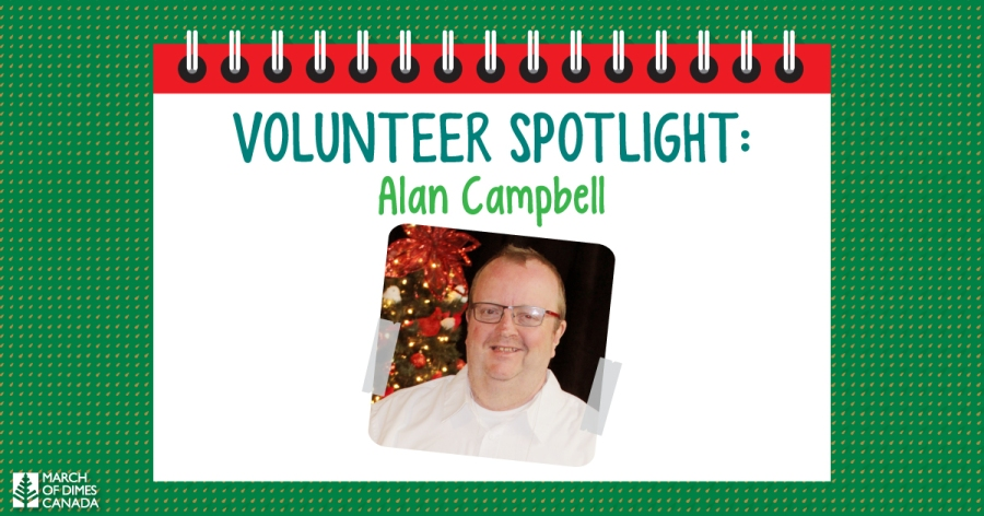 Volunteer Spotlight: Alan Campbell