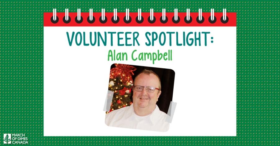 Volunteer Spotlight: Alan Campbell