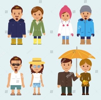stock-vector-set-of-isolated-characters-a-man-and-woman-in-different-clothes-for-every-season-324280310.jpg